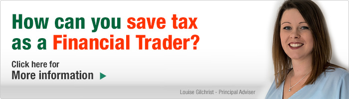 How can you save tax as a Financial Trader? Click here for more information