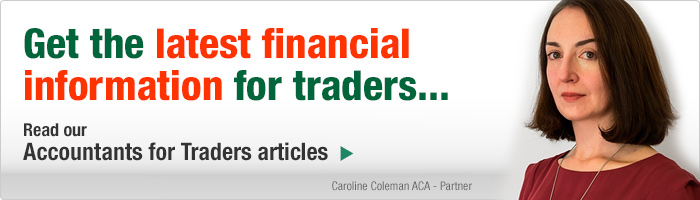 Get the latest financial information for traders. Read our Accountants for Traders Articles